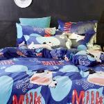 生活提案-法蘭絨 枕套組-哞哞牛
