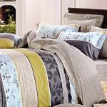 RODERLY-純棉 兩用被床罩組 加大六件式-新時代
