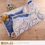 魔法家居 ~頂級厚款法蘭絨毛毯150cmx200cm法蘭絨+羊羔絨毛毯