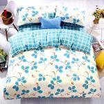 【情定巴黎】秋葉尼亞-100%精梳純棉雙人四件式被套床包組-獨立筒適用