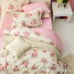 Tonia Nicole東妮寢飾 薔薇花園精梳棉兩用被床包組(特大)