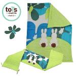 「英國smarTrike-Tots」英國兔立體刺繡床圍套組2件式(花朵綠)