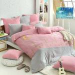義大利Fancy Belle X Malis《寧靜夜的星空》加大四件式色坊針織被套床包組