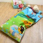 義大利Fancy Belle X Malis《大自然的淋浴》單人防蹣抗菌兒童睡袋