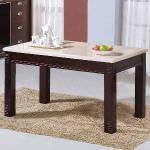 《Homelike》瑪姬5尺石面餐桌