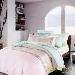 【BEDDING】櫻之戀 TENCEL 100% 天絲木漿纖維雙人加大薄床包+鋪棉兩用被組