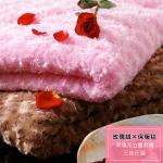 BELLE VIE 浪漫玫瑰絨毯150X200cm(任選兩入)(焦糖咖啡x2)