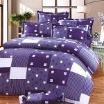 Carolan湛藍 雙人五件式純棉床罩組