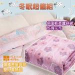 《買就送蠶絲被》韓國甲珍(單人/雙人)恆溫型電熱毯//電毯(雙人電毯+蠶絲被)