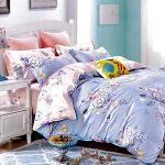 RODERLY-純棉 兩用被床罩組 雙人六件式-清舞茉莉