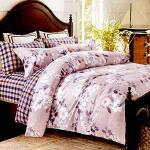 RODERLY-純棉 兩用被床罩組 雙人六件式-清出花夢