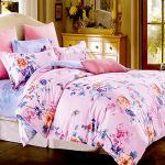 RODERLY-純棉 兩用被床罩組 加大六件式-晨露花語