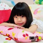 【SmielyWorld】《微笑寶貝》調整型兒童乳膠枕(10款)(01和平綠)