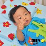 【SmielyWorld】《微笑寶貝》恆溫水冷凝膠兒童平枕(8款)(01和平綠)