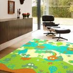 【范登伯格】 雅甄童趣俏皮高質感絲質地毯-我家140x200cm
