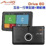 Mio MiVue Drive 60五合一1080P行車記錄6吋聲控導航機