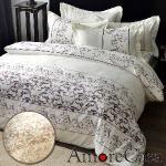 【AmoreCasa】買一送一 吸濕排汗雙人被套床包四件組