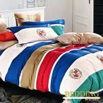 【BEDDING】詩意英倫 100%棉雙人加大四件式床包被套組
