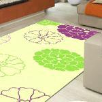 【范登伯格】 雅甄現代高質感絲質地毯(兩色任選)-春天140x200cm(紫)