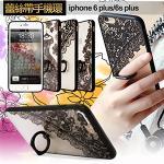 COLORS Apple iPhone 6 Plus/i6+ 5.5吋 神秘跳動指環手機殼(送掛繩)(圖騰)