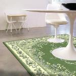 【范登伯格】 雅甄歐式高質感絲質地毯-碧湖140x200cm