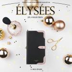JTL Galaxy A8 2016 Elysees 側掀皮套(優雅黑)