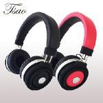 【TSAO】tsao-52重低音無線藍芽音樂耳罩式耳機 可通話/一對二(黑色)