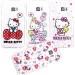 【Hello Kitty】Samsung Galaxy S7 edge 5.5吋 彩繪空壓手機殼(童趣)