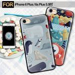 COLORS Apple i6 Plus/6s Plus 5.5吋 相遇約定手機殼-北極熊&歡喜海怪(北極熊)