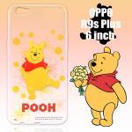 迪士尼限量授權 OPPO R9s Plus 6吋 彩繪保護殼-小熊維尼