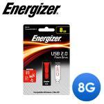 Energizer 勁量 8GB Classic Slider 經典滑蓋隨身碟(黑紅色)