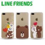 【新品上市】LINE iPhone 7 Plus硬式保護殼-加送LINE公仔乙入(隨機出貨)(熊大)