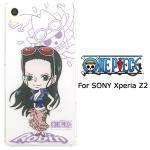 SONY Xperia Z2專用 航海王ONEPIECE透明手機殼(羅賓)
